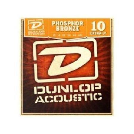 Juego Dunlop Acústica Fósforo Bronce 10-48