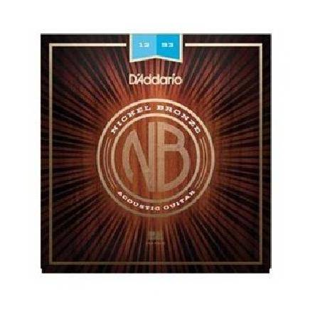 D'Addario Nickel Bronze NB1253 D'Addario Nickel Br