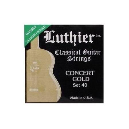 Juego Luthier Clásica 40 Concert Gold