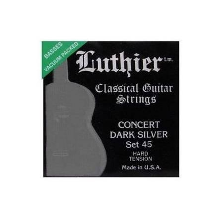 Juego Luthier Clásica 45 Concert Dark Silver
