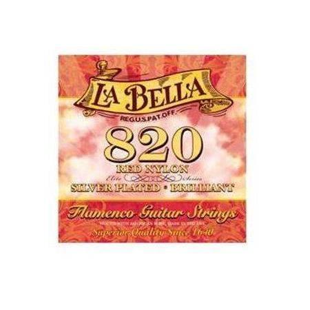CUERDAS LA BELLA ROJA FLAMENCA 820