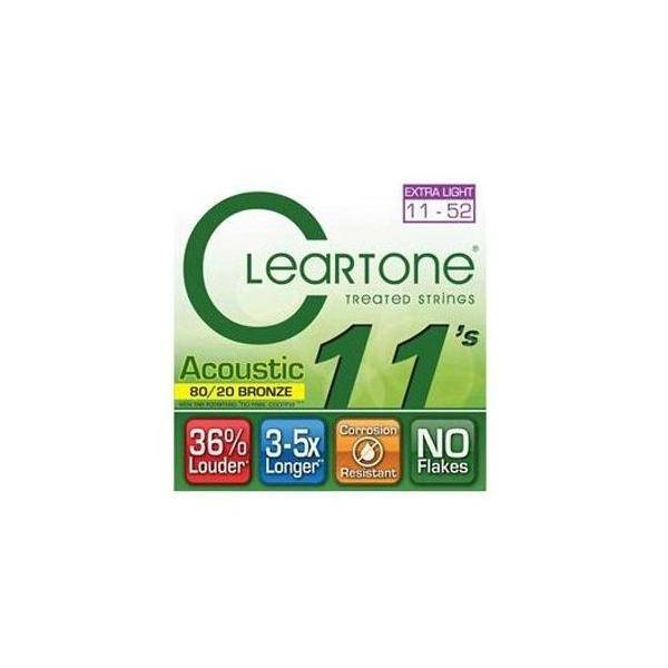 CLEARTONE BRONZE 11-52 EXTRA LIGHT CUERDAS DE GUIT