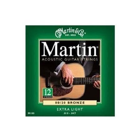 Martin Acústica Bronce 10-47 juego 12 cuerdas