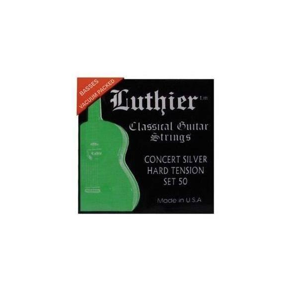 Juego Luthier Clásica 50 Concert Silver
