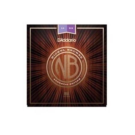 Juego Cuerdas Guit Acust D'addario Nb1152 Nick/brz