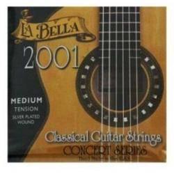 JUEGO CUERDAS GUITARRA LA BELLA 2001 TM