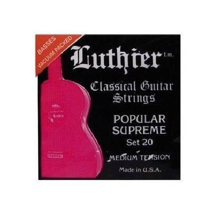 Juego Luthier Clásica 20 Super Carbon 101