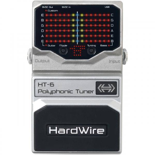 HardWire HT-6 Polyphonic Tuner
