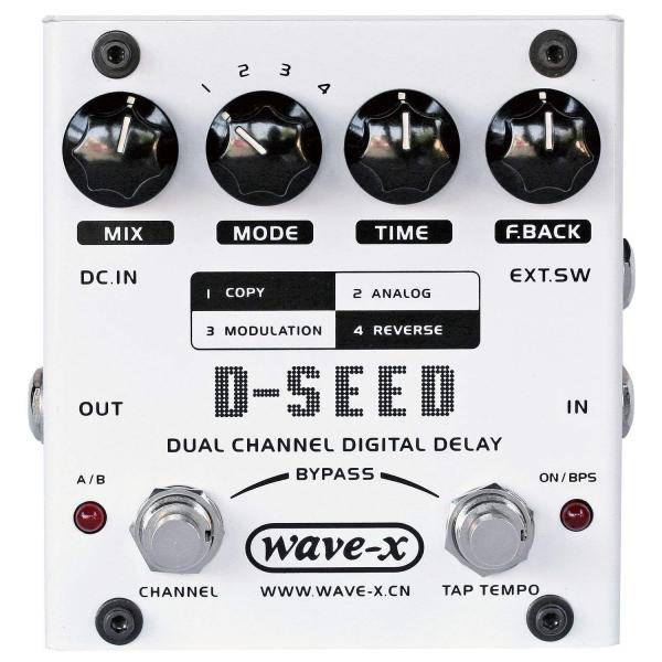 PEDAL GUITARRA JOYO DSEED DUAL DIGITAL DELAY