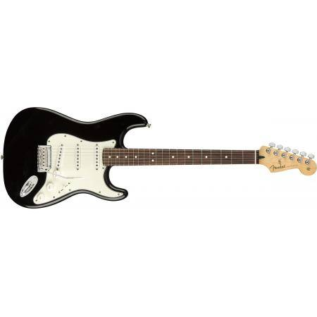 FENDER PLAYER STRATOCASTER PF BLACK GUITARRA ELÉC.