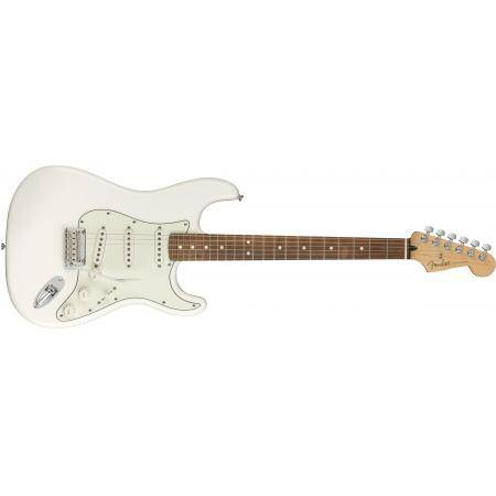 FENDER PLAYER STRATOCASTER POLAR WHITE PF GUIT.EL.