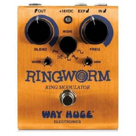 Pedal Dunlop Way Huge WHE606 Ring Worm Modulator