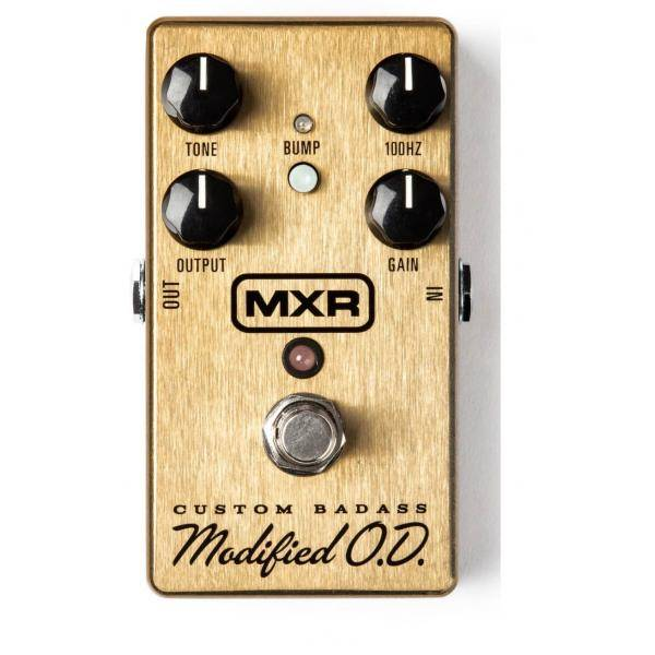Dunlop MXR M77 Custom Badass Modified O.D. Pedal