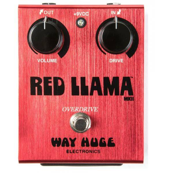 Pedal Dunlop Way Huge WHE203 Red Llama Overdrive