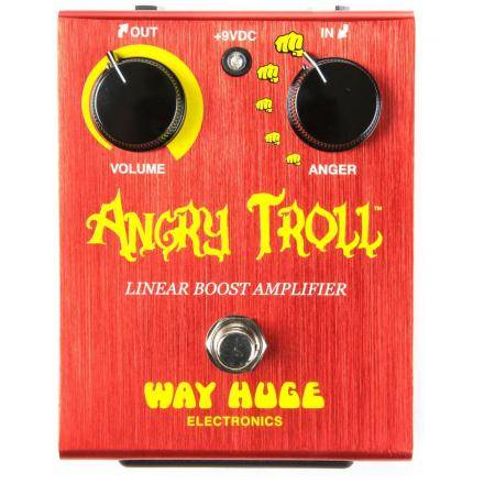 Pedal Dunlop Way Huge WHE101 Angry Troll Boost