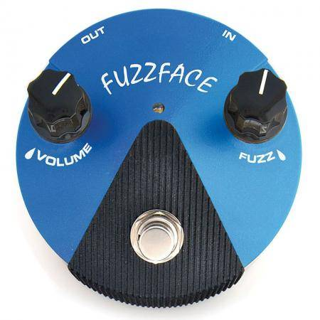 Dunlop Fuzz Face Mini Silicon Pedal