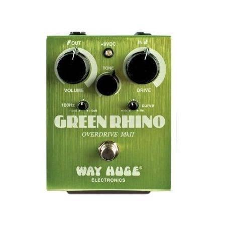 Pedal Dunlop Way Huge WHE202 Green Rhino Overdrive