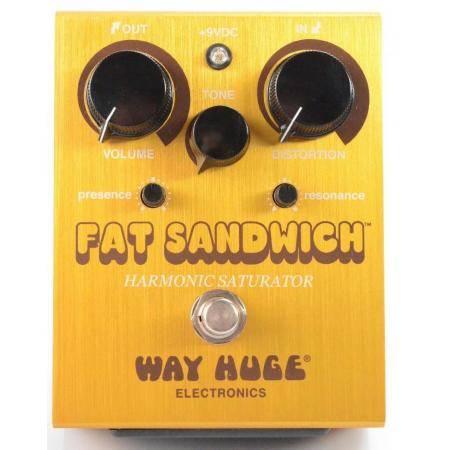 Pedal Guitarra Way Huge WHE301 Fat Sandwich Distortion