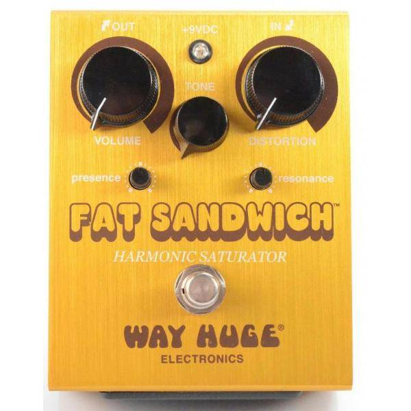 Pedal Guitarra Way Huge WHE301 Fat Sandwich Distortion