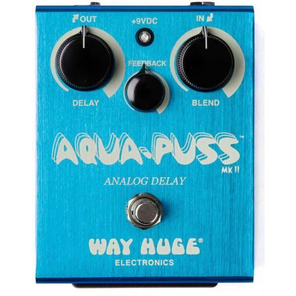 Pedal Dunlop Way Huge WHE701 Aqua Puss Analog Dela