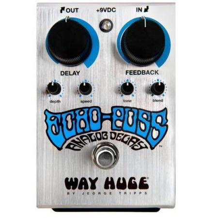 Pedal Dunlop Way Huge WHE702 Echo Puss Analog Delay