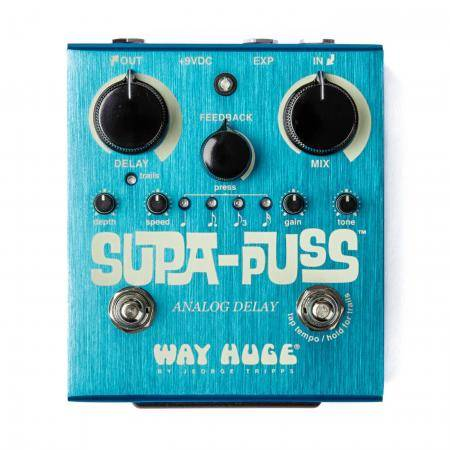 Pedal Dunlop Way Huge WHE707 Supa Puss Analog Delay