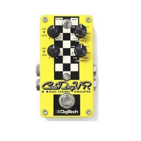 Digitech CabDryVR Pedal guitarra