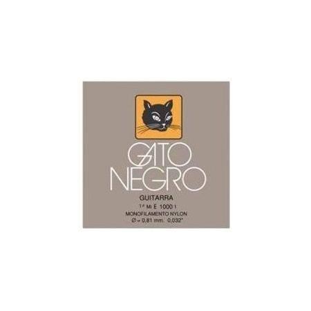 2A CUERDA GATO NEGRO NYLON BLANCO