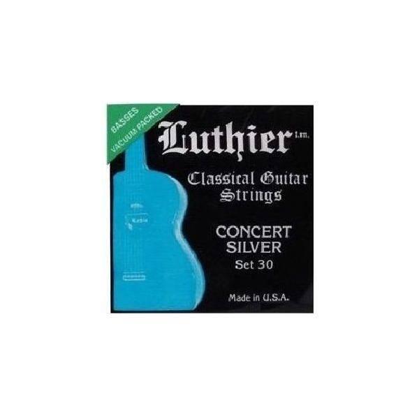 JUEGO LUTHIER CLÁSICA 30 CONCERT SILVER