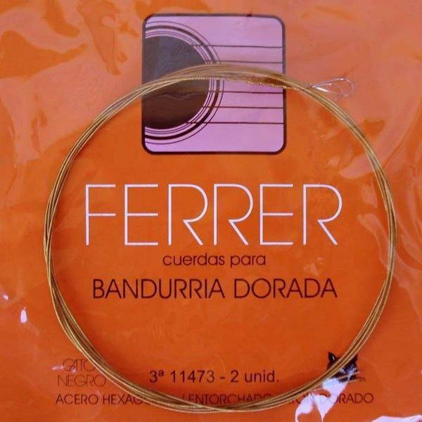 Ferrer 3ª Cuerda Laúd Doble Acero