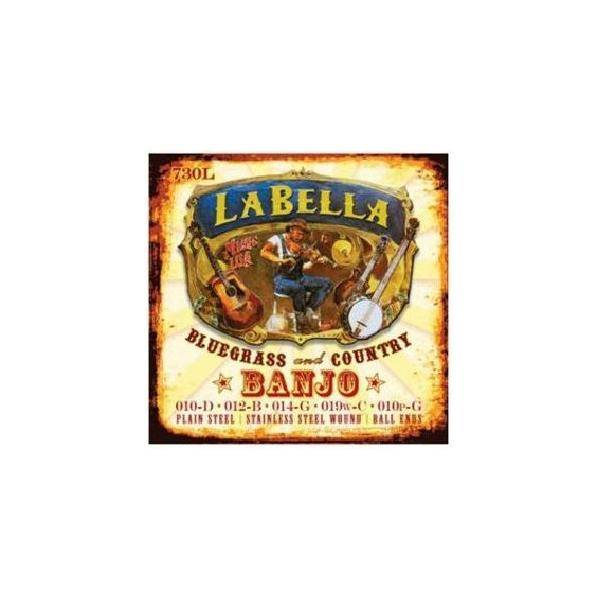 La Bella Juego Cuerdas Banjo 730M