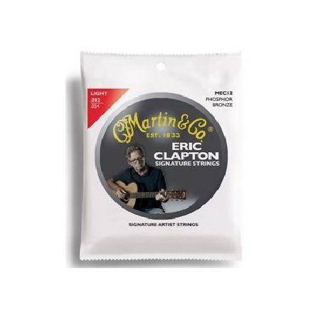 Juego Martin Acústica Clapton's Choice Fósforo Bronce 12-54