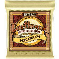 CUERDAS ERNIE BALL ACÚSTICA EARTHWOOD 13-56