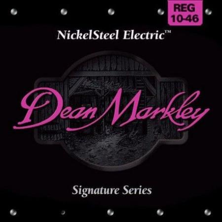 Juego Cuerdas Dean Markley NickelSteel Electric 10-46