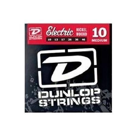 Juego Dunlop Eléctrica Nickel 10-46