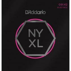 D'ADDARIO NYXL0942(09-42) JUEGO CUERDAS GUITARRA E