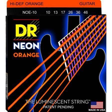 DR Strings Neo Orange 10-46 Cuerdas guitarra eléctrica