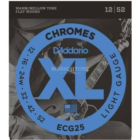 D'addario ECG25 cuerdas guitarra eléctrica