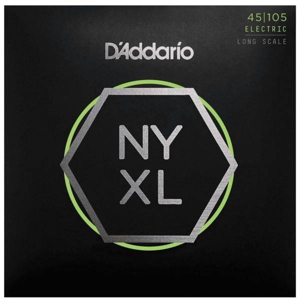 Juego Cuerdas Bajo D'addario Nyxl45105 (45-105)