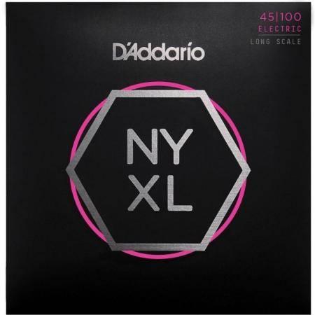 Juego Cuerdas Bajo D'addario Nyxl45100 (45-100)