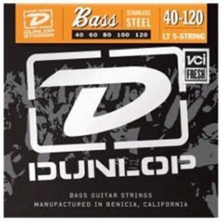 Juego Dunlop Bajo 5 cuerdas Steel 40-120