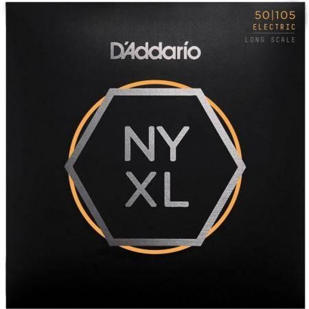 Juego Cuerdas Bajo D'addario Nyxl50105 (50-105)