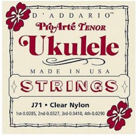 D'addario J71 Juego Cuerdas Ukelele Tenor Proarte