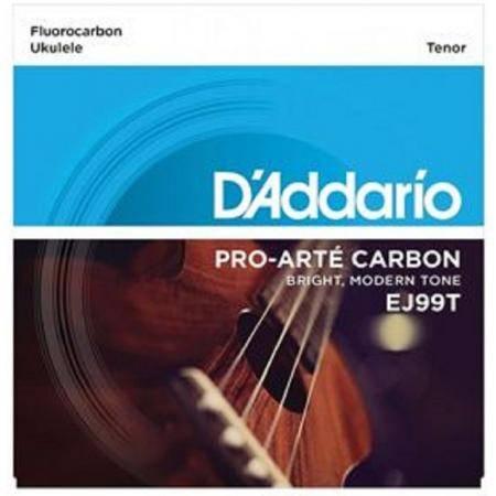 Daddario EJ99T Juego Cuerdas Ukelele Tenor Carbon