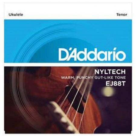 D'addario EJ88T Juego Cuerdas Ukelele Tenor Nylon