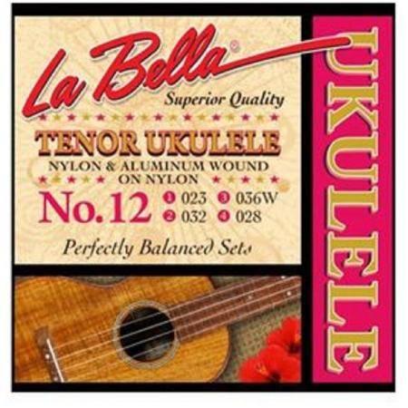 La bella Nº12 Cuerdas ukelele tenor