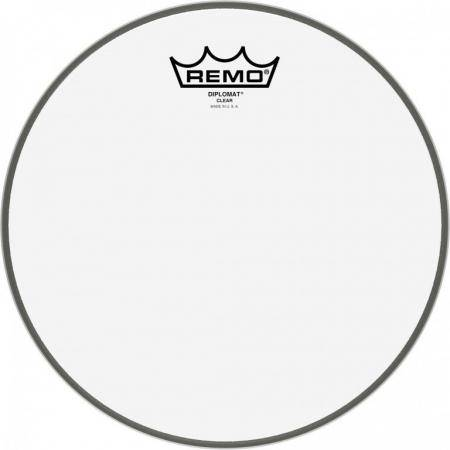 "REMO BD-0310-00 DIPLOMAT CLEAR 10"" PARCHE TOM"