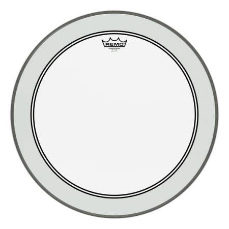 "REMO P3-1322-C2 POWERSTROKE 3 CLEAR 22"" P. BOMBO"