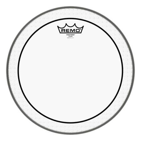 "REMO PS-0312-00 PINSTRIPE CLEAR 12"" PARCHE TOM"