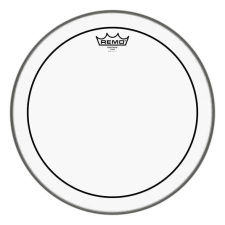 """REMO PS-0315-00 PINSTRIPE CLEAR 15"""" PARCHE TOM"""